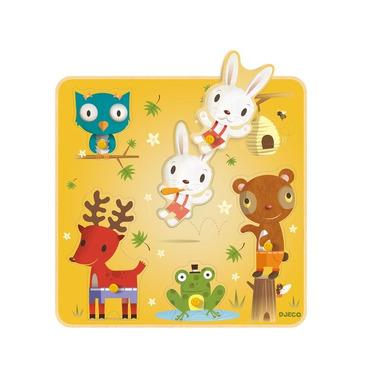 Djeco, puzzle Nono i przyjaciele