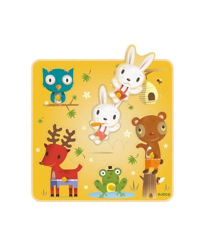 Puzzle Nono i przyjaciele Djeco