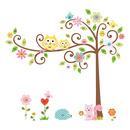 Naklejki wielokrotnego użytku - Kwitnące drzewo