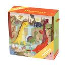 MUDPUPPY Puzzle JUMBO – 25 elementów-Dinozaury