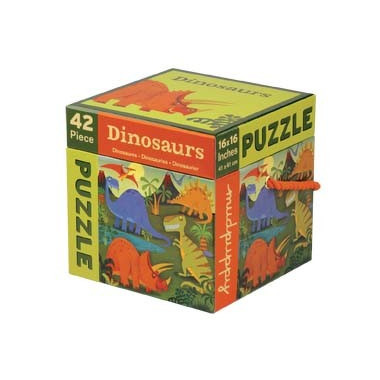MUDPUPPY Puzzle – 42 elementy  - Dinozaury