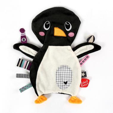 Label Label, Friends Kocyk przytulanka Pingwin METKI