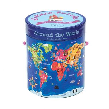 MUDPUPPY Puzzle – 63 elementy  - Odkrywamy świat