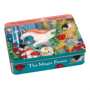 MUDPUPPY Puzzle – 100 elementów - Magiczny las