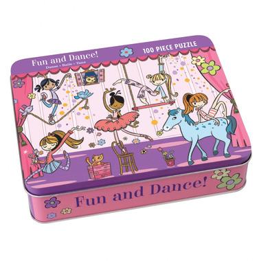 MUDPUPPY Puzzle – 100 elementów - Zabawa i taniec