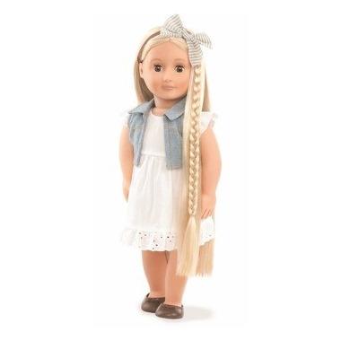 Our Generation, Lalka Phoebe - blondynka z regulowanymi włosami do stylizacji