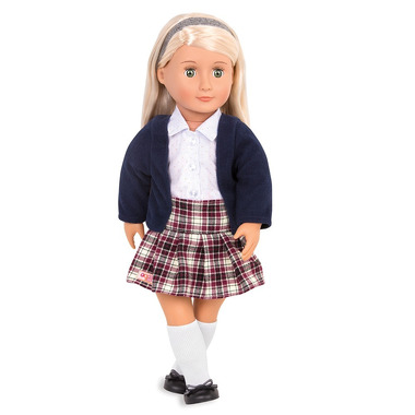 Our Generation, Lalka Emmeline - blondynka w mundurku szkolnym