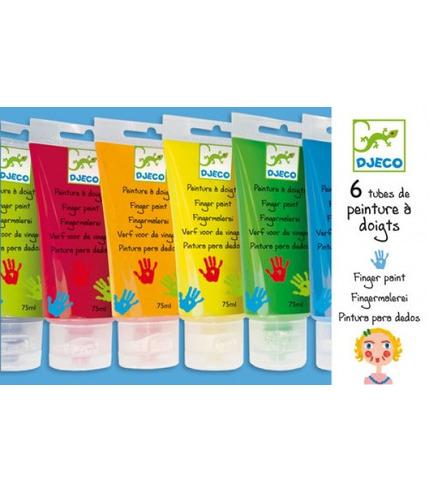 Farby do malowania palcami Djeco