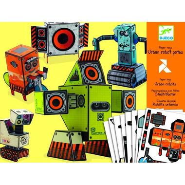 Djeco, papierowe roboty