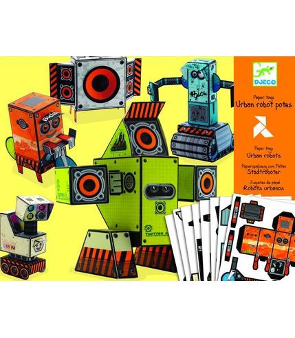 Papierowe roboty Djeco
