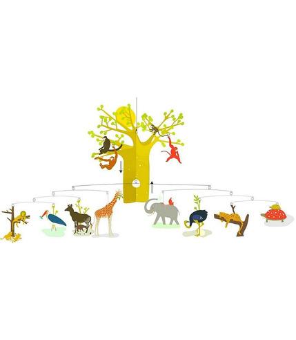 Djeco Mobil - Zwierzęta z sawanny