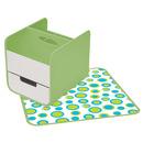 Skórzany przenośny organizer zielony B.Box