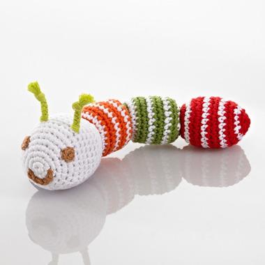 Grzechotka Czerwona Gąsienica Pebble