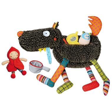 Interaktywny wilk i 4 zabawki Ebulobo
