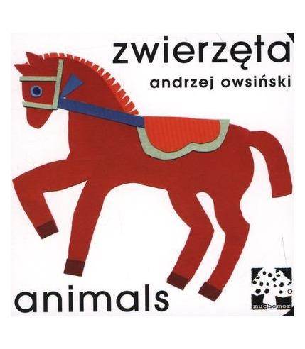 Wydawnictwo Muchomor - Zwierzęta Animals