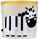 3 Sprouts Kosz na zabawki  Zebra