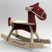 Drewniany jeżdzik dla dzieci Łosiołek