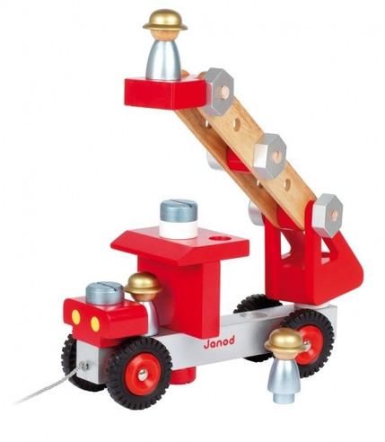 Janod, wóz strażacki z narzędziami