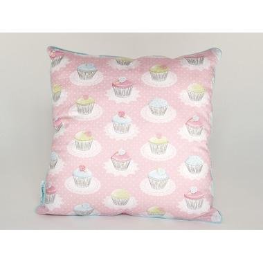 Poduszka dwustronna różowy deser Lamps&Co