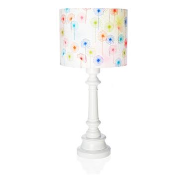 Lampka tęczowe dmuchawce z podstawką okrągłą Lamps&Co
