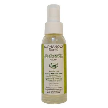 Alphanova Sante, Antybakteryjny spray do mycia rąk, aromatyczny, 99ml
