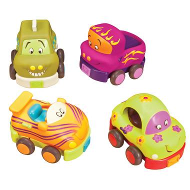 Wheeee-ls! – zestaw miękkich autek