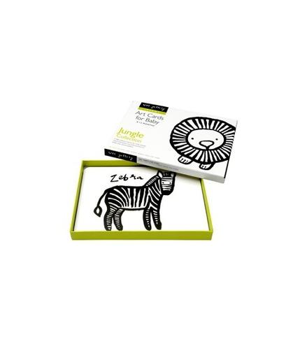 Karty dla dzieci – kolekcja dżungla Wee Gallery