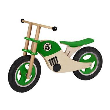 Rowerek Moto zielony Gepetto