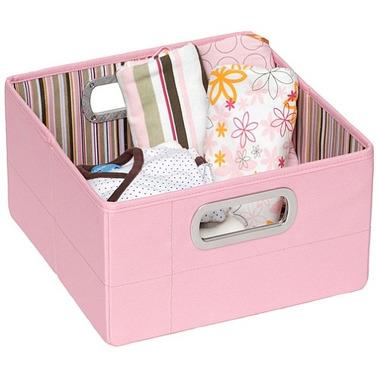 Pudełko niskie JJ Cole różowe