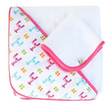 Ręcznik z kapturkiem JJ Cole (brights giraffes)