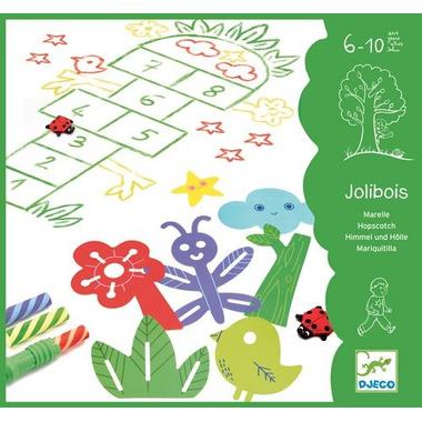 Djeco, zestaw do rysowania gier podwórkowych