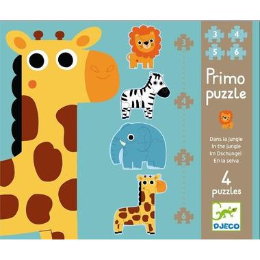 Djeco, puzzle postaciowe Dżungla
