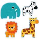 Puzzle postaciowe Dżungla Djeco
