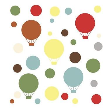 Skip Hop, naklejki na ścianę - Mod Dot