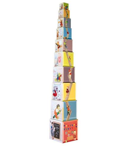 Piramida klocków La Grande Famille