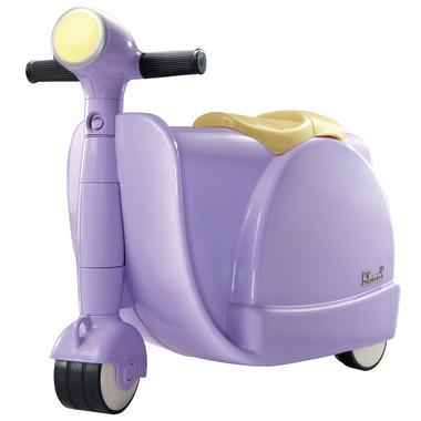 Jeździk i Walizka 2w1 Lilac Skoot