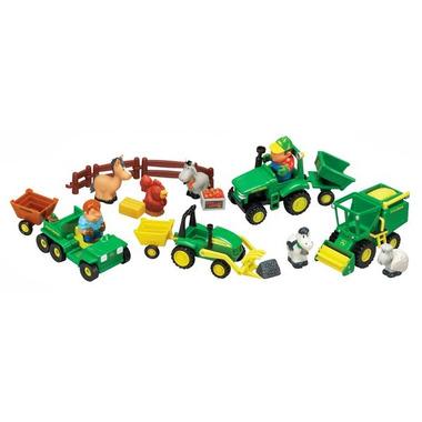Duży zestaw farma Johnny Tractor