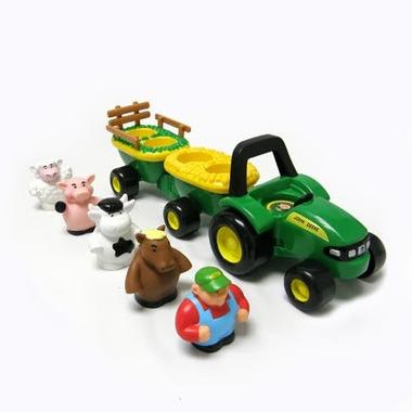 Traktor ze zwierzętami Johnny Tractor