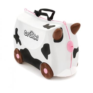 Trunki, jeżdząca walizeczka Krowa