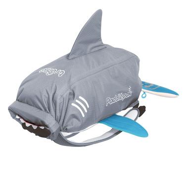 Trunki, plecak Wodoodporny  rekin szary