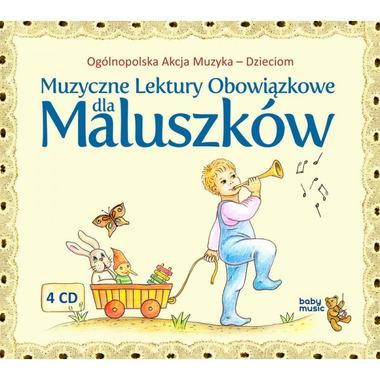Muzyczne lektury obowiązkowe dla maluszków, 4 CD