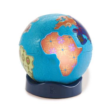 Btoys, Świecący globus z muzyką świata - Global Glowball