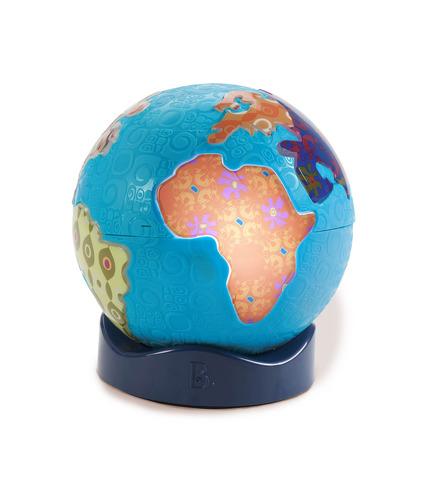 Świecący globus z muzyką świata - Global Glowball