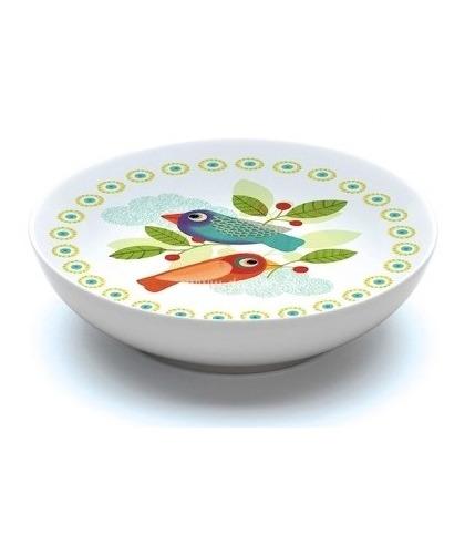 Miseczka porcelanowa płytka Ptaszki Djeco