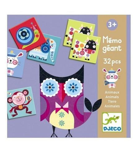 Memo Gigant - Zwierzęta Djeco
