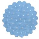 Dywan Lorena Canals ciastko okrągłe niebieskie