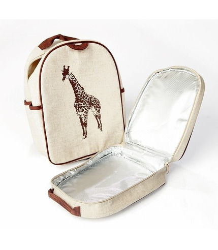 SoYoung Lunchbox  Żyrafa Brązowa