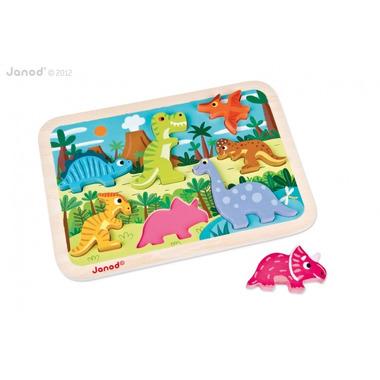 Janod, układanka 3D dinozaury