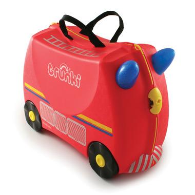 Trunki, jeżdząca walizeczka Wóz strażacki