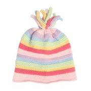 Kolorowa czapka w paski pastelowe Pebble